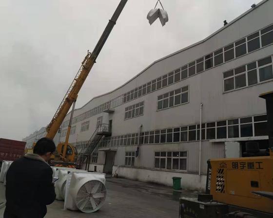 许昌电厂yabo体育下载亚博官网首页/亚博体育yabo88在线ios/厂房通风设备安装现场