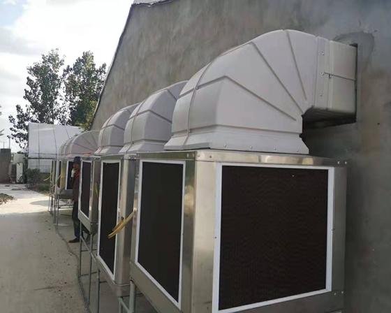 商丘亚博体育yabo88在线ios/厂房通风降温设备安装现场
