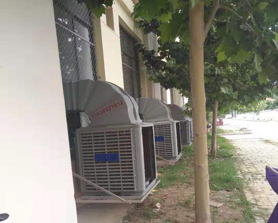 洛阳亚博体育yabo88在线ios/厂房通风降温设备客户案例安装现场