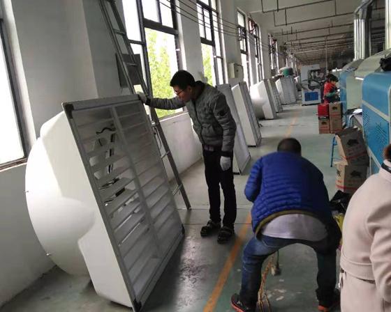 开封亚博体育yabo88在线ios/厂房通风降温设备客户案例安装现场