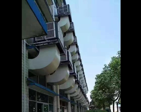 许昌亚博体育yabo88在线ios/厂房通风降温设备客户案例安装现场