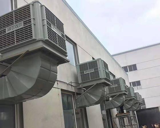 许昌李氏食品有限公司亚博体育yabo88在线ios车间降温设备安装案例展示